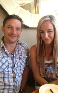 Tom Hardy bought a cancer patient a diamond necklace. love that boy.