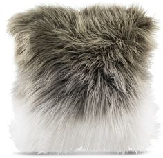 Zenna Toss Pillow in GREY WHITE Modern Throw Pillows, Fur Throw Pillows, Throw Pillow Sets, Outdoor Throw Pillows, Decorative Pillows, Grey And White, Gray, Fur Pillow, High Touch