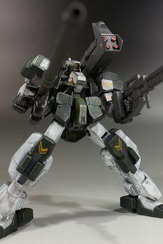 Custom Build: HG 1/144 Armored Graze Custom - Gundam Kits Collection News and Reviews
