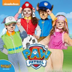 Find the latest, greatest PAW Patrol Halloween Costumes in every size you can imagine, plus spooktacular deals you won't find anywhere else. Halloween Ball, Group Halloween Costumes, Spirit Halloween, Trolls Birthday Party, Paw Patrol, Couples, Cute, Kids, Young Children