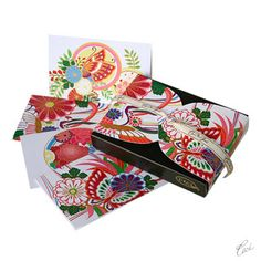 Bridesmaid Gifts - Lotus Butterfly Boxed Note Cards by Ceci New York - NewlyWish.com
