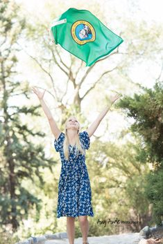 LDS Sister Missionary Picture Flag Washington State  Any Angle Photography