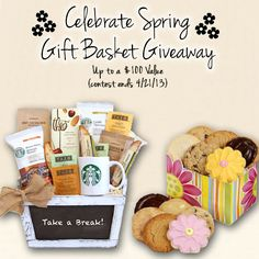 a Spring Gift Basket Giveaway