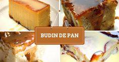 Nuestras variantes de la receta de Budin de Pan
