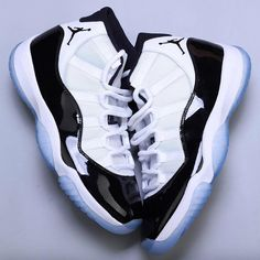 "36e16630c8d How excited are you for the return of the Air Jordan 11 ""Concord""  For a  detailed look at this upcoming release"