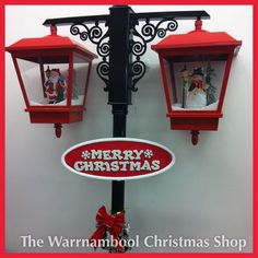Snowing musical street lamps instore now be quick limited stock!! #warrnamboolchristmasshop #wow #snow #musical#warrnambool #shop3280 #lamposts by warrnambool_christmas_shop