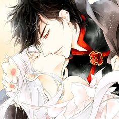 Flower of Vampire - First Kiss!!!