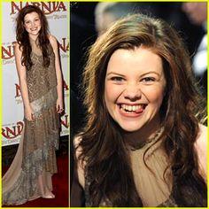 Georgie Henley's Narnia Night! She's so cute :) <3