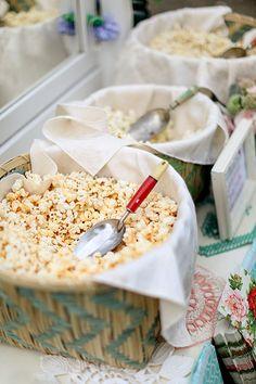 Great wedding food idea: A popcorn bar!   Brides.com