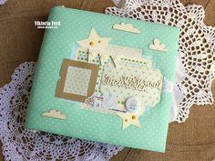 MoNa Design Скрапбукинг: Вдохновение Виктории Ферд - Альбом для мальчика - итоговый пост