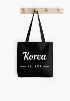 Seoul is a city in korea. This design is for everyone who loves Korea, Seoul and Kpop. A great gift and perfect for your Seoul trip. • Millions of unique designs by independent artists. Find your thing. Seoul Korea Travel, Asia Travel, Large Bags, Small Bags, Cotton Tote Bags, Reusable Tote Bags, Cities In Korea, Busan Korea, Plastic Bags