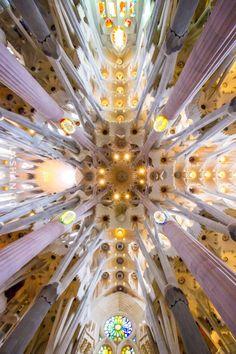 La Sagrada Familia, Barcelona. Travel, explore & experience. Photo by Lashan Ranasinghe. #LiveLaughExplore