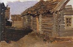 Russian Landscape, Landscape Art, Ukrainian Art, Types Of Music, Traditional Art, House Styles, Wood, Brainstorm, Pictures