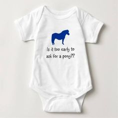 (Baby Wants Pony Baby Bodysuit) #Dressage #Equestrian #Horse #Kids #Pony #Riding is available on Funny T-shirts Clothing Store http://ift.tt/2cmGGK6