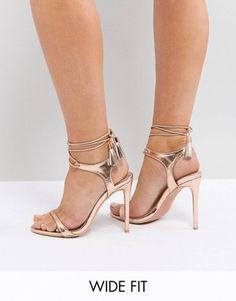 "Tiana-01 Slim Party Prom Stylish Sandals 4.5/"" High Heel Women Shoes Black 10"