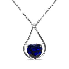 Ebay NissoniJewelry presents - Created Sapphire  Heart 10k W/Gold Pendant    Model Number:P8797-W0CSA    http://www.ebay.com/itm/Created-Sapphire-Heart-10k-W-Gold-Pendant-/322048763327 Warnings