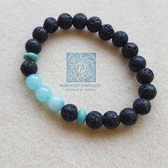 <3 Turquoise + Diffuser - essential oil, lava stones + light blue ocean beauty. Blue sky inspiration! Jewelry - stacker bracelet.