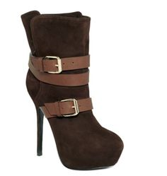 Report Signature platform booties on sale at Macy's! Price $350, now $245! Click here to buy.