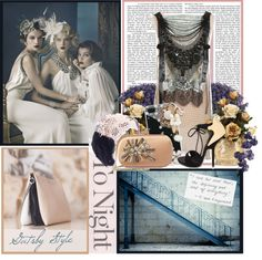"""""""Gatsby Style"""" by lisabedow ❤ liked on Polyvore"""