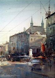 Watercolor, Belgrade