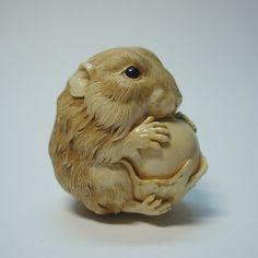 Oleg Doroshenko - Hamster with a nut