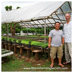 50 Square Meters Of Worm Composting Beds Producing 11k Liters Of Worm Poo Every 45 Days…