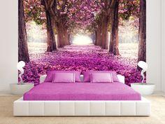 Tapeten - Vlies fototapete 350x245 Blumen c-A-0031-a-d - ein Designerstück von design4art bei DaWanda #tapete #fototapete #blumen