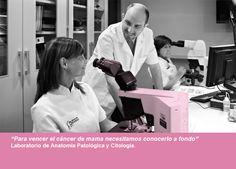 Para vencer el cáncer de mama necesitamos conocerlo a fondo. Laboratorio de Anatomía Patológica y Citología