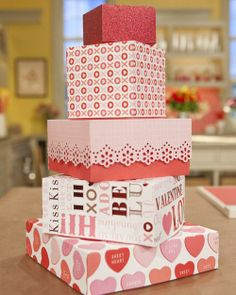 Valentine's Day Boxes How-To