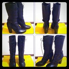 Via Spiga Leather Boots Brand: Via Spiga Size: 8M Color: Black Brand New (no box)  Made in Italy Via Spiga Shoes