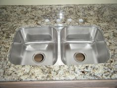Check Out This New C Tech I Stainless Steel Kitchen Sink Looks Expensive But It S Not And Great With The Counter Top