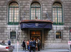 yale club, nyc Great Gatsby Theme, Manhattan Nyc, New York City, The Neighbourhood, Italy, Materialistic, Club, World, Workplace