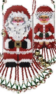 Holiday earring Bead Patterns - About.com Beadwork