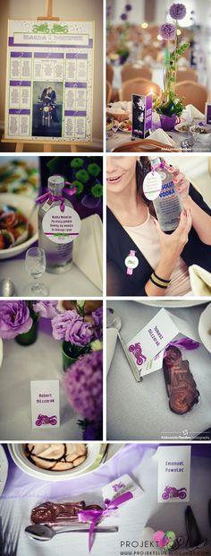 projekt ŚLUB - zaproszenia ślubne, oryginalne, nietypowe dekoracje i dodatki na wesele: podziękowanie dla gości
