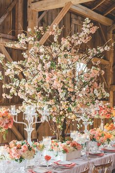 WedLuxe – The WedLuxe Wedding Show 2015: The Parisian Blossom Garden | Photography By: Mango Studios Follow @WedLuxe for more wedding inspiration!