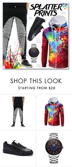 """""""Men Sporty Look"""" by jecakns ❤ liked on Polyvore featuring men's fashion and menswear"""
