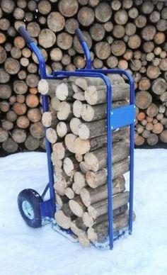 Ruční vozík (rudl) na dřevo - LesAgroKomplex.cz