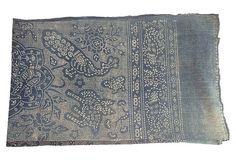 Indigo Batik w/ Peacock & Dragon | The Madcap Collector | One Kings Lane