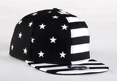 USA American Flag Snapback BLACK Adjustable United States 2014 FIFA World Cup Cap