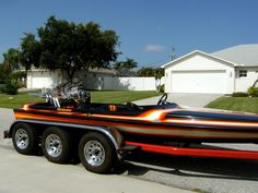 Top Three Jet Boats for Sale - Are you looking for some jet boats for sale? Speed Boats For Sale, Jet Boats For Sale, Flats Boats For Sale, Fast Boats, Cool Boats, Sanger Boats, Fountain Boats, Drag Boat Racing, Powerboat Racing