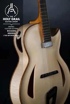Exhibitor at The Holy Grail Guitar Show 2014: Richard Heeres, Heeres Custom Guitars, The Netherlands  http://www.heeresguitars.nl https://facebook.com/richard.heeres http://holygrailguitarshow.com