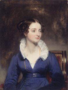 Henry Inman. Portrait of a woman,  1825.