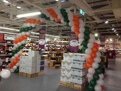 Balloon Arch #Ireland #boysingreen