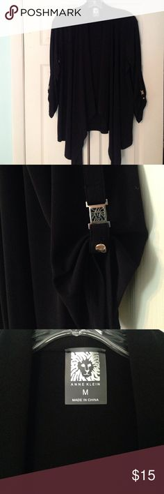 Black Cardigan Tags removed, never work. Great for casual work wear Anne Klein Sweaters Cardigans