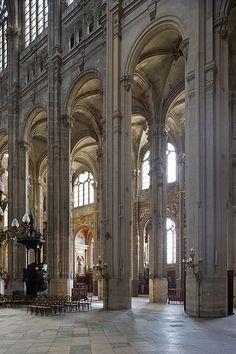 The Church of St Eustace, Paris