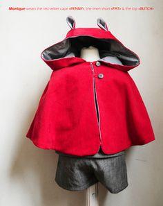 red cape by Les Zigouis.