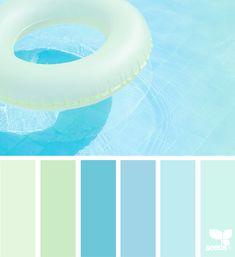 { color float } | image via: @colormiminzi #colorpalette #color #colorscheme