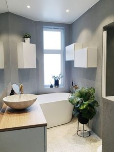 Ikea bathroom design # bathtubs With enough time cornered in your own home while in Bad Inspiration, Bathroom Inspiration, Home Decor Kitchen, Home Decor Bedroom, Ikea Design, Living Place, Modern Kitchen Design, Bathroom Interior, Small Bathroom
