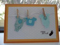 Card: baby boy arrival