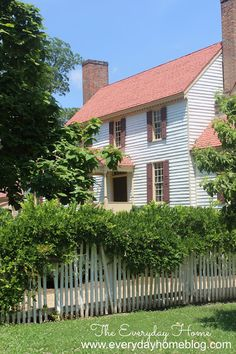Colonial Williamsburg {a step back in time} - The Everyday Home